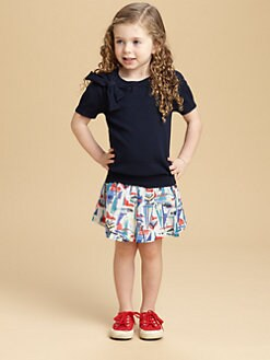 Milly Minis - Toddler's & Little Girl's Bridget Bowneck Sweater