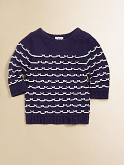 Milly Minis - Toddler's & Little Girl's Sailor Stitch Sweater