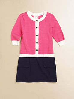 Milly Minis - Toddler's & Little Girl's Catie Combo Sweater Dress