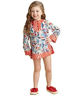 Milly Minis - Toddler's & Little Girl's Sailboats Tunic