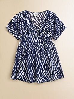 Milly Minis - Toddler's & Little Girl's Rope Print Coverup
