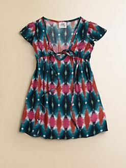Milly Minis - Toddler's & Little Girl's Tie-Dyed Coverup