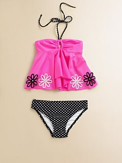 Love U Lots - Toddler's & Little Girl's Two-Piece Tankini