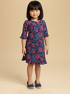 Lilly Pulitzer Kids - Toddler's & Little Girl's Fish Print Knit Dress