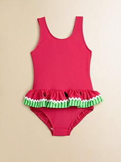 Florence Eiseman - Toddler's & Little Girl's One-Piece Watermelon Swimsuit