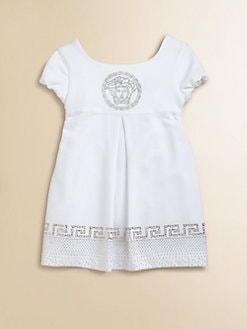 Versace - Toddler's & Little Girl's Studded Knit Dress