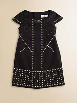 Versace - Toddler's & Little Girl's Embellished Knit Dress