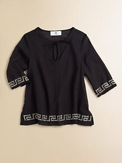 Versace - Toddler's & Little Girl's Embellished Beach Cover-Up