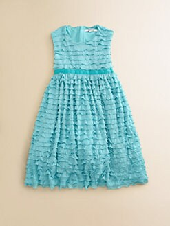DKNY - Toddler's & Little Girl's Ruffled Dress