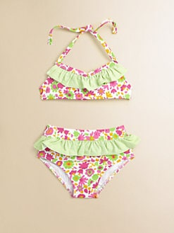 Florence Eiseman - Toddler's & Little Girl's Ruffled Two-Piece Bikini