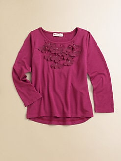 Design History - Toddler's & Little Girl's Rosette Hi-Lo Top