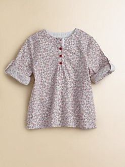 Petit Bateau - Toddler's & Little Girl's Floral Print Top