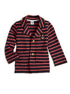 Petit Bateau - Toddler's & Little Girl's Striped Blazer