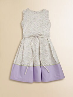 Isabel Garreton - Toddler's & Little Girl's Lavender Floral Dress