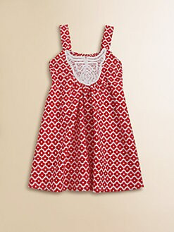 Isabel Garreton - Toddler's & Little Girl's Floral Crochet Dress