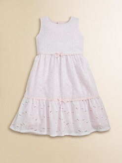Isabel Garreton - Toddler's & Little Girl's Tiered Eyelet Dress