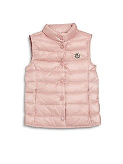 Moncler - Toddler's & Little Girl's Liane Down Puffer Vest