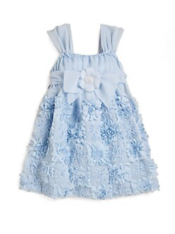 David Charles - Toddler's & Little Girl's Floral Chiffon Dress