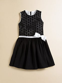 David Charles - Toddler's & Little Girl's Cotton Eyelet Dress