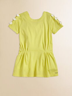 Chloe - Toddler's & Little Girl's Jersey Bow Dress