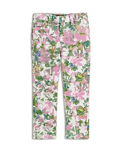 7 For All Mankind - Toddler's & Little Girl's Kauai Floral Skinny Jeans