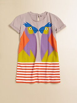 Stella McCartney Kids - Toddler's & Little Girl's Marnie Parrot Dress