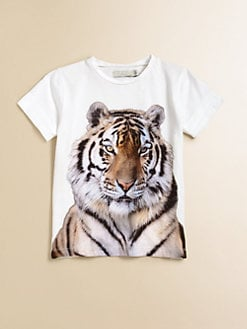 Stella McCartney Kids - Toddler's & Little Girl's Violet Tiger Tee