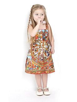 Dolce & Gabbana - Toddler's & Little Girl's Print Cotton Dress