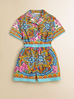 Dolce & Gabbana - Toddler's & Little Girl's Printed Romper