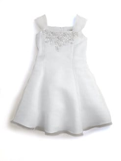 Us Angels - Toddler's & Little Girl's Embellished Organza Dress