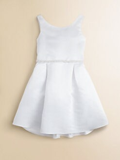 Us Angels - Toddler's & Little Girl's Faux Pearl-Beaded Satin Dress