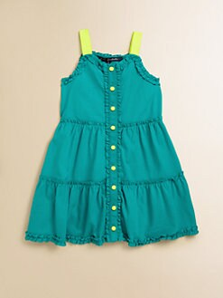 Lili Gaufrette - Toddler's & Little Girl's Ruffled Jersey Romper
