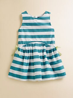Lili Gaufrette - Toddler's & Little Girl's Striped Popeline Dress