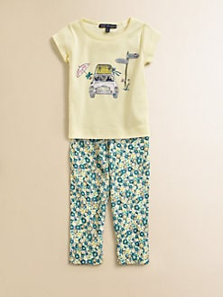 Lili Gaufrette - Toddler's & Little Girl's Cotton Car Tee