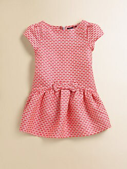 Lili Gaufrette - Toddler's & Little Girl's Jacquard Bow Dress