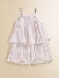 Lili Gaufrette - Toddler's & Little Girl's Pleated Crepe Dress