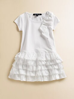 Lili Gaufrette - Toddler's & Little Girl's Ruffled Bow Dress
