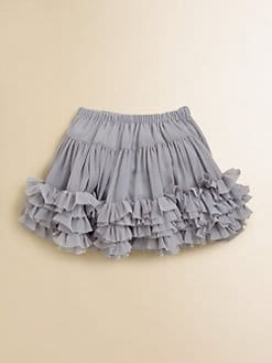 Lili Gaufrette - Toddler's & Little Girl's Ruffled Crepe Skirt