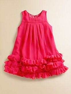 Lili Gaufrette - Toddler's & Little Girl's Crepe Ruffled Jumper