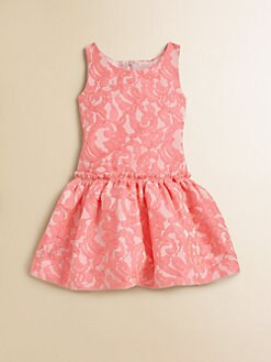 Zoe - Toddler's & Little Girl's Jacquard Dress