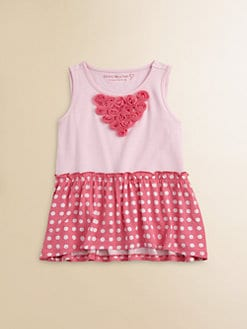 Design History - Toddler's & Little Girl's Polka Dot Tunic
