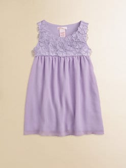 Design History - Toddler's & Little Girl's Chiffon Flower Dress