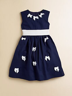 Hartstrings - Toddler's & Little Girl's Bow-Trim Dress