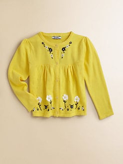 Hartstrings - Toddler's & Little Girl's Pointelle Cardigan
