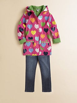 Hartstrings - Toddler's & Little Girl's Heart Raincoat