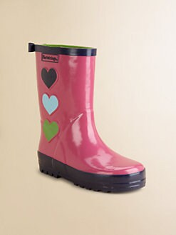 Hartstrings - Infant's, Toddler's & Girl's Heart Rain Boots
