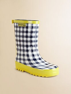 Hartstrings - Infant's, Toddler's & Girl's Checked Rain Boots