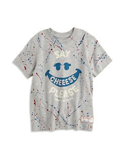 True Religion - Toddler's & Little Girl's Paint Splatter Tee