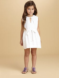 Oscar de la Renta - Toddler's & Little Girl's Pintucked Dress