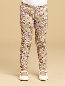 Oscar de la Renta - Toddler's & Little Girl's Floral Leggings